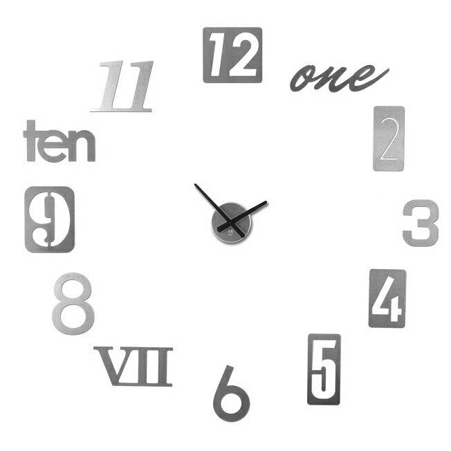 《 UMBRA 》數字拼貼掛鐘