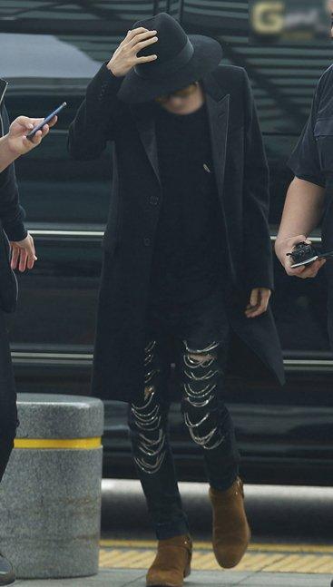 <br/><br/>  韓國 GD 獨家GD BIGBANG權志龍同款黑色風衣外套SLP風格西裝大衣<br/><br/>