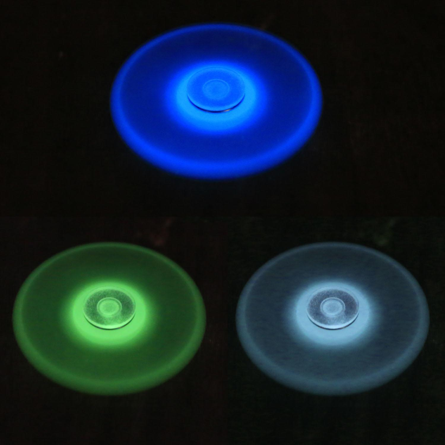 Glowing Hand Spinner 360 Tri Fidget Desk Stress Reducer EDC Focus Toy 5