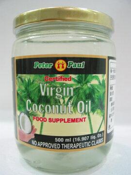 P.P.~原味冷壓初榨椰子油500ml/罐~特惠中~