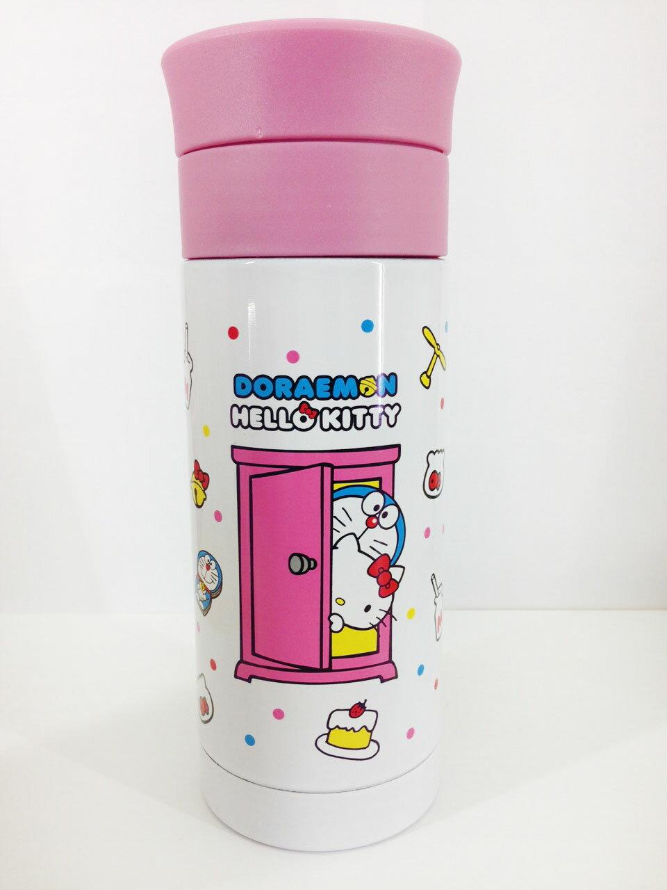 【真愛日本】16022500006KT*DM不銹鋼瓶-粉蓋  三麗鷗 Hello Kitty 凱蒂貓 不鏽鋼 保溫瓶 景品  限量