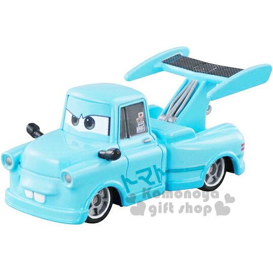 〔小禮堂〕迪士尼 CARS閃電麥坤 TOMICA合金小汽車《C-28.脫線.東京限定版》經典造型值得收藏