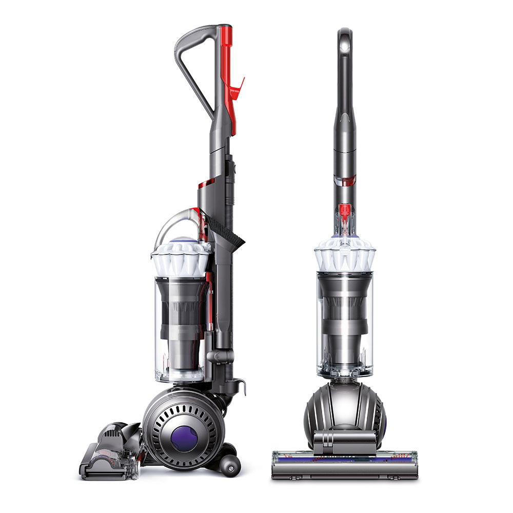 Dyson Light Ball Multi Floor Midsize Upright Vacuum White Refurbished 0