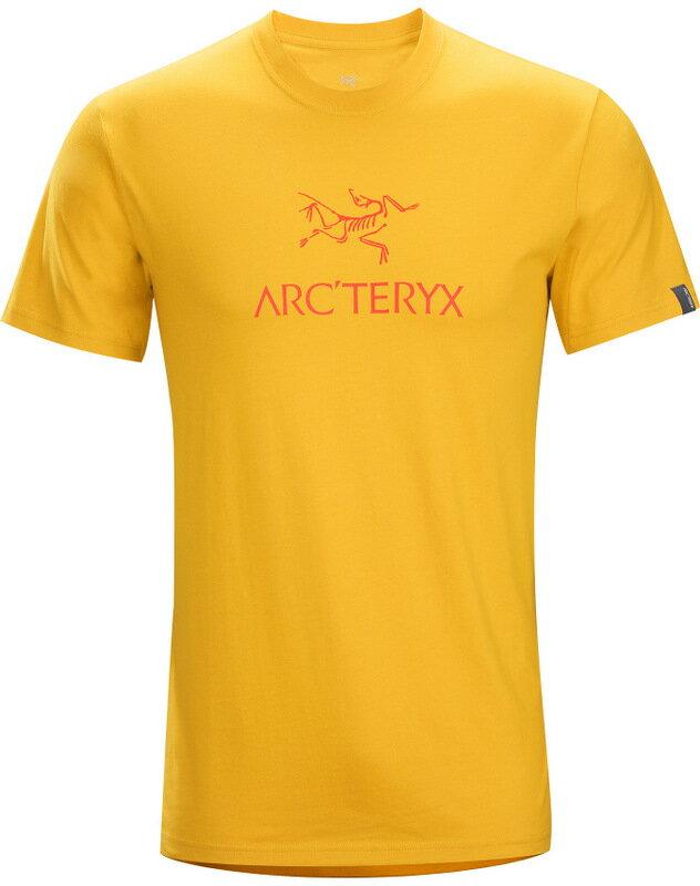 Arcteryx 始祖鳥/品牌T恤/穿搭/短袖棉T 17044 Arc'word-T-Shirt 男款 番花黃