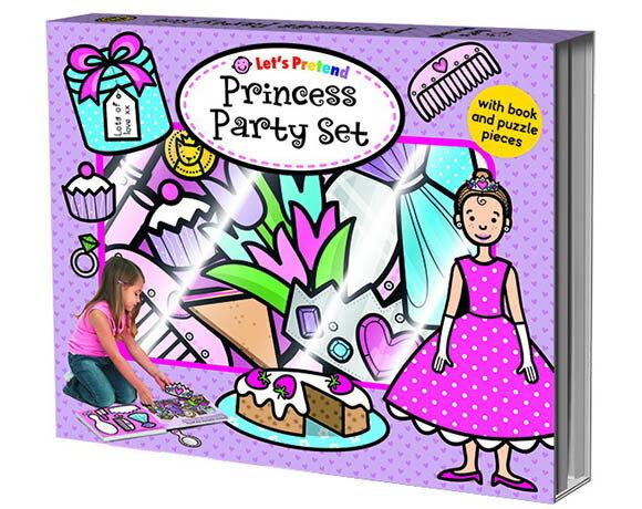 Let's Pretend:Princess Party Set 小公主的派對 硬頁掀翻操作書(英國版)