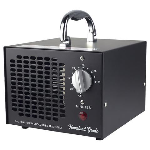 Homeland Goods Commercial Industrial Ozone Generator 3500mg Black ac0b82bf1a5713773b73261deeb19e76