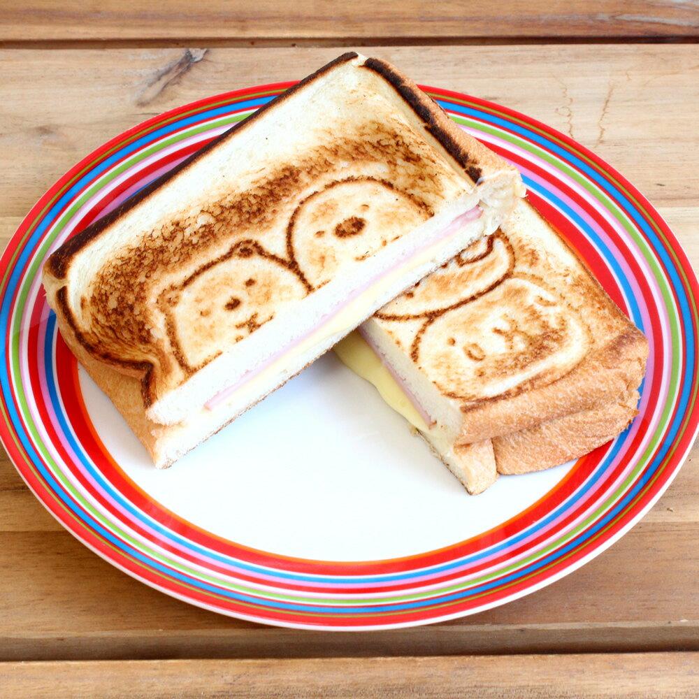 角落生物 / 熱壓三明治烤盤 / C10680。1色。(2160)日本必買代購 / 日本樂天。件件免運 4