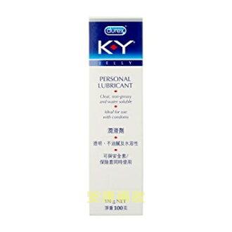 【嬌生】*Dulex* KY水性潤滑凝膠100g
