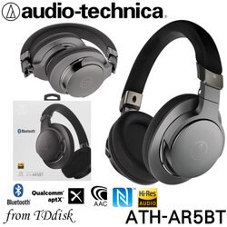 志達電子 ATH-AR5BT Audio-technica 日本鐵三角 藍芽無線耳罩式耳機 (台灣鐵三角公司貨)
