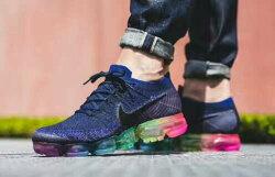 Nike Air Vapormax Flyknit Be True 彩虹鞋底 情侶款