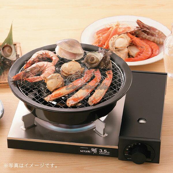 Iwatani岩谷達人炭火風燒烤盤專用網2入中秋烤肉907616海渡