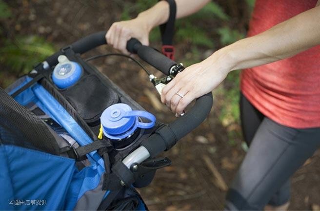 婴幼儿推车后挂式托盘挂袋