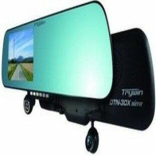 【迪特軍3C】TRYWIN DTN-3DX mirror 行車導航智慧魔鏡 Mirror 5吋導航+測速+後視鏡 多合一行車記錄器