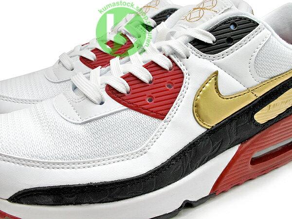 2020 經典復刻慢跑鞋 鼠年 農曆年 NIKE AIR MAX 90 白黑紅金 CNY 中國風 網面 皮革 大氣墊 慢跑鞋 (CU3005-171) 0220 2