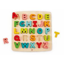 德國【Hape愛傑卡】ABC大寫立體木拼圖