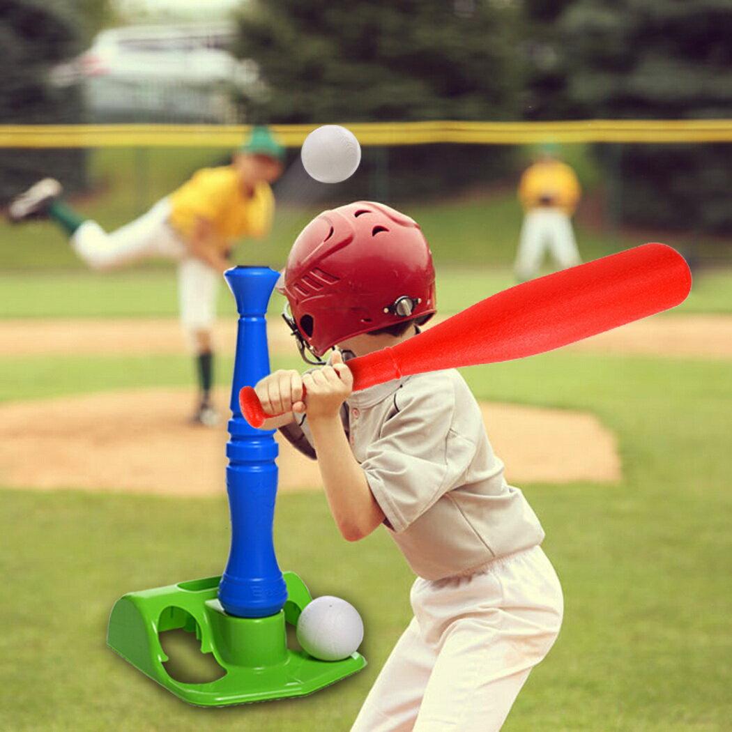 T-Ball Set, 2 Oversized Baseballs, Kids Sport tools 1