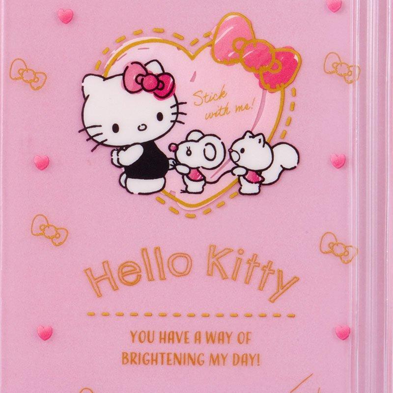 凱蒂貓kitty 朋友 愛心 粉 手帳收納夾 B6 書套 FD84 文件夾 資料夾 票卡夾 真愛日本