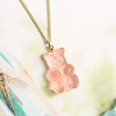 〔APM飾品〕日本Gargle 美妙滋味熊熊軟糖項鍊 (水蜜桃口味) (薄荷口味) (薰衣草口味)