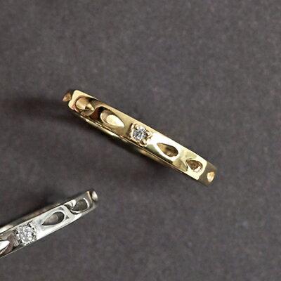 APM:〔APM飾品〕日本Kaza奇蹟光暈淚滴之石戒指(金色系)(銀色系)