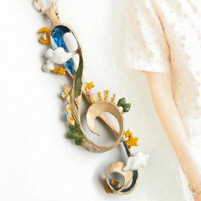 〔APM飾品〕日本Palnartpoc泰坦神曲曼妙音符項鍊