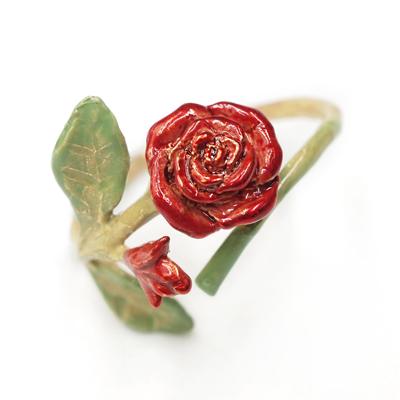 APM:〔APM飾品〕日本Palnartpoc枝藤蔓延熱戀薔薇戒指