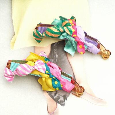 〔APM飾品〕 Gargle 魔幻色彩香甜糖果香蕉夾髮飾