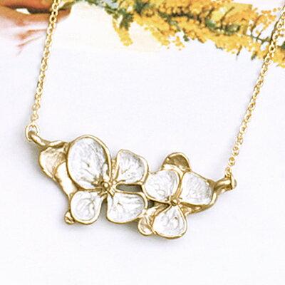APM:〔APM飾品〕日本Kaza曼妙魅影花冠奇境項鍊