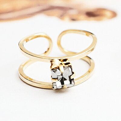 〔APM飾品〕 Kaza 羅馬奇遇璀璨之心尾戒  指節戒