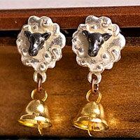 〔APM飾品〕日本Brough Superior 快樂綿羊鈴鐺物語耳環