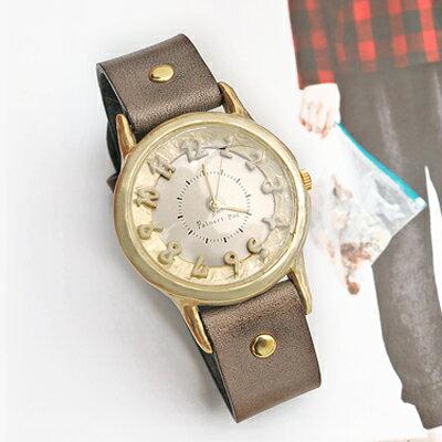 〔APM飾品〕 Palnart poc~Fortuna~福爾圖娜命運女神皮革手錶