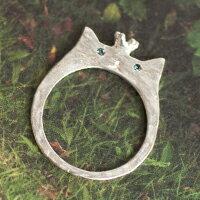 〔APM飾品〕 Luccica 貓咪國度王子與公主戒指