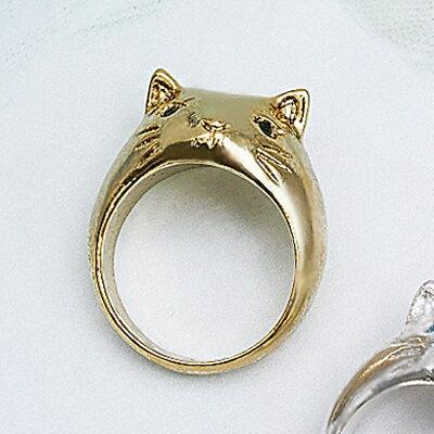 〔APM飾品〕日本Luccica 大嘴貓歡樂時光之戒