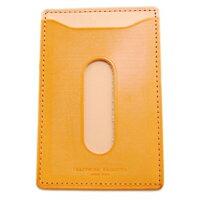 〔APM飾品〕日本 Craftwork Products Bridle 上品刷色優雅質感本格車票夾 (原色)