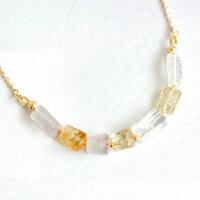 〔APM飾品〕日本Erea 冰清玉潔晶透礦石項鍊
