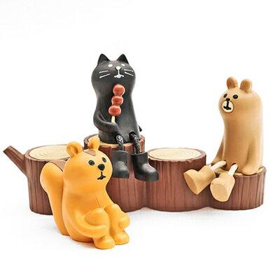 〔APM飾品〕森林物語木紋四層圓椅