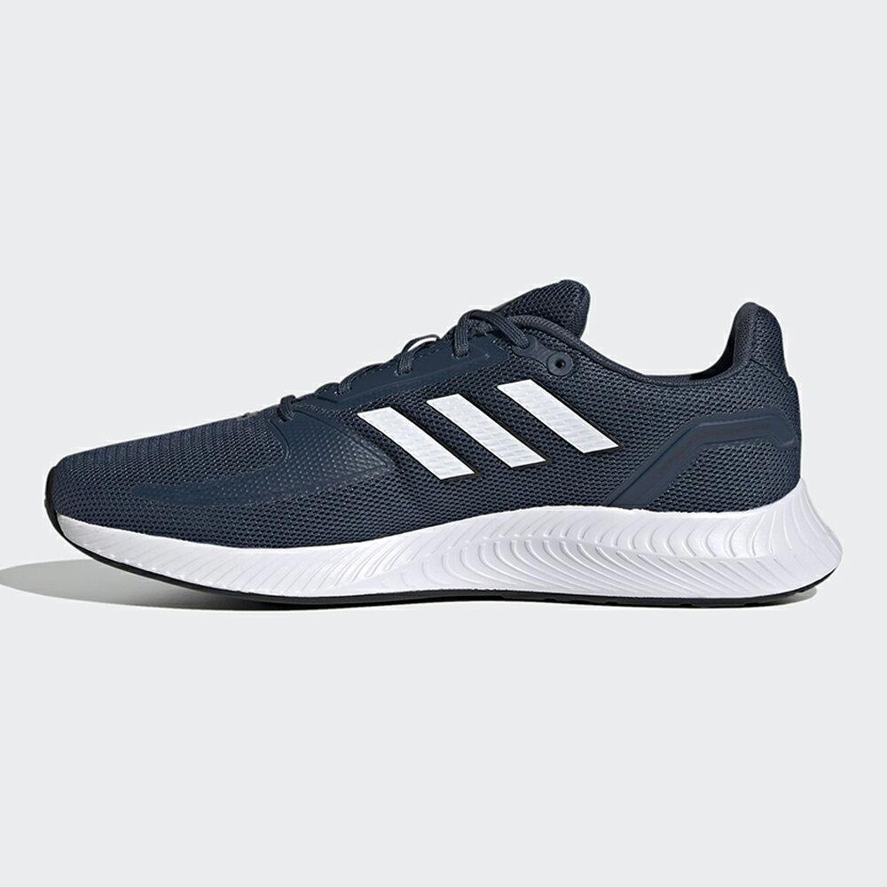 【滿額最高折318】ADIDAS RUNFALCON 2.0 男鞋 慢跑 訓練 支撐 透氣 輕量 藍【運動世界】FZ2807
