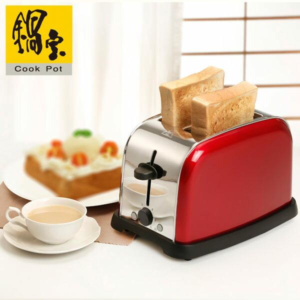 【威利家電】 【分期0利率+免運】鍋寶 厚片/薄片吐司不鏽鋼烤麵包機 OV-860-D