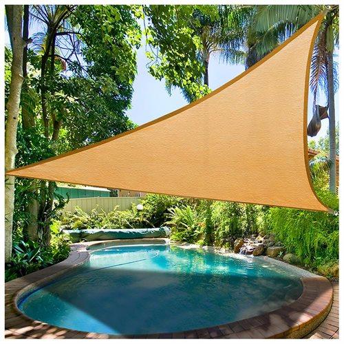 Yescomusa 115 triangle sun shade sail garden yard canopy shelter 115 triangle sun shade sail garden yard canopy shelter pool redgreenblue freerunsca Images