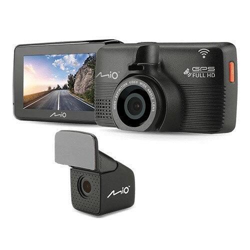 送32G卡+3孔『 Mio MiVue™ 792D 』WiFi星光級Sony Sensor+前後雙鏡頭行車記錄器+GPS測速器/紀錄器/F1.8/140度