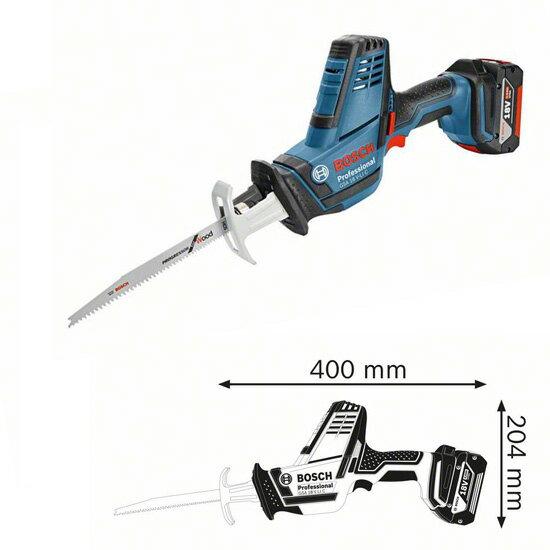 BOSCH博世 附刀片3 GSA 18V-LI C 鋰電 充電式 手持式軍刀鋸 軍刀鉅 切割機 切斷機