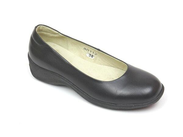 *免運*包鞋【彩虹屋】經典素面船型底包鞋06-8011(黑)☆MIT台灣製☆現+預