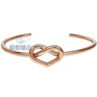 【錶飾精品】Calvin Klein CK飾品 KJ6BPF1001-C形開口式女性手環 IP玫瑰金 白鋼 全新原廠正品