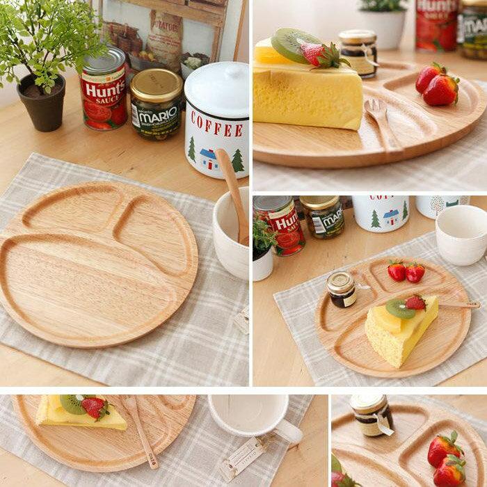 木質餐盤 / 圓形【韓國原裝進口ACACIA木製餐盤】戀家小舖