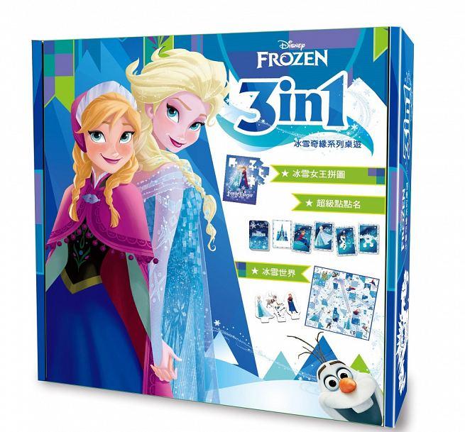 【樂桌遊】迪士尼3 in 1系列-冰雪奇緣(繁中版) 323038