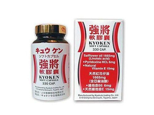 【人生製藥】強將 軟膠囊 330粒/瓶