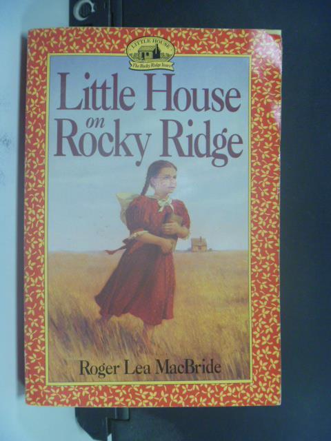【書寶二手書T9/原文小說_GRE】Little house on rocky ridge_David