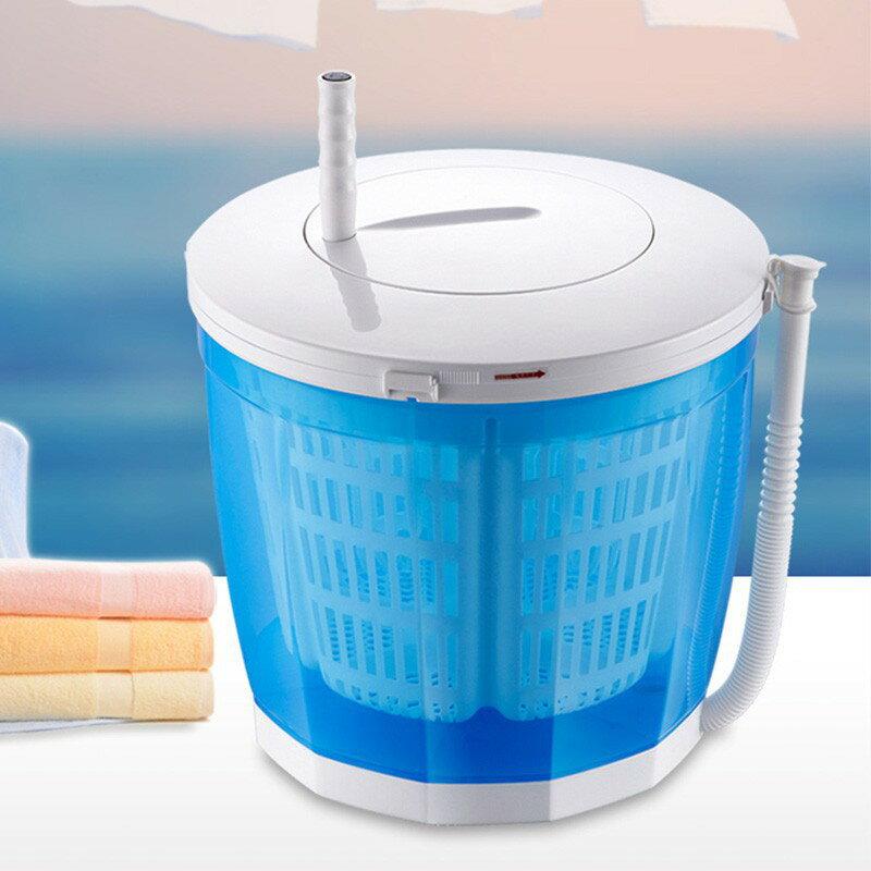 (現貨臺灣出)手搖洗衣機 迷你小型脫水機 甩乾器 洗脫兩用半自動洗衣機 領券下定更優惠