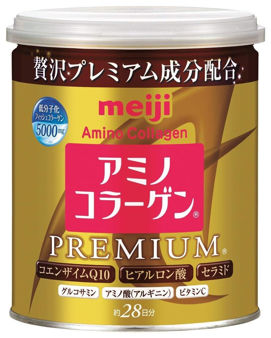 Meiji明治 膠原蛋白粉 尊爵黃金版 罐裝 200gx1罐