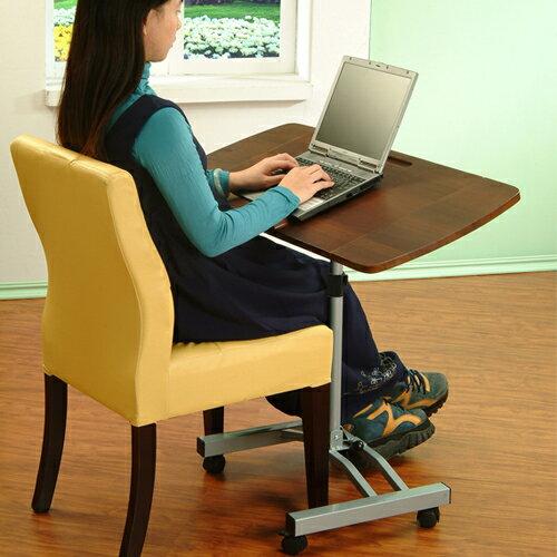 《C&B》可加寬式摺疊移動式筆記型電腦桌