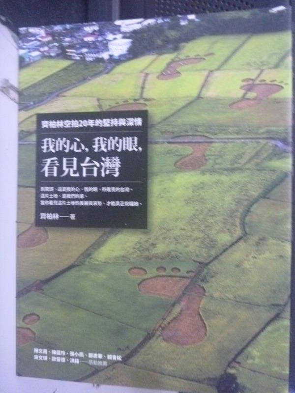 【書寶二手書T3/一般小說_QIE】我的心,我的眼,看見台灣_齊柏林